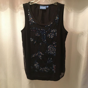 Cool Simply Vera Sequined Top